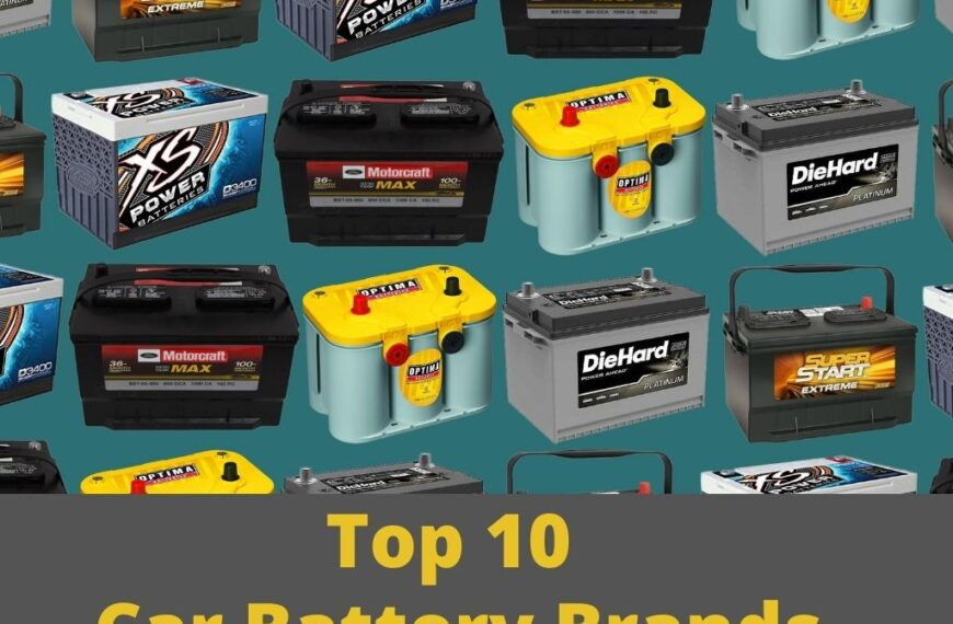Top 10 Car Battery Brands explained In 2022